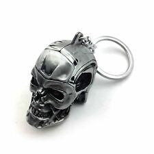 1pc Creative Motorcycle Bicycle Skull Key Chain Ring Keychain Keyring Key Fob