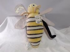 JCPENNEY PLush Bee Bumblebee Pillow Bumble Bee NWT
