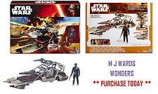 Star Wars B3674 - Desert Landspeeder - Finn (Jakku) - Disney Hasbro