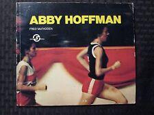 1978 ABBY HOFFMAN by Fren McFadden VG 4.0 Super People Series Paperback