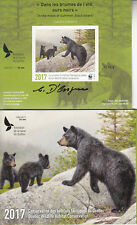 Canada MNH Quebec Conservation 2017 WWF IMPERFORATED Overprinted  SIGNED  DQ86