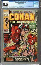Conan the Barbarian #10 CGC 8.5