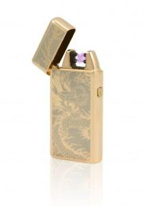 TESLA Lighter T05 - elektronisches USB Lichtbogen Feuerzeug, Drache