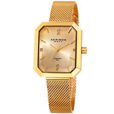 Akribos XXIV Women's CLASSSIC Ak909yg Wrist Watch