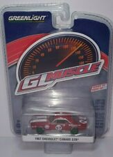 1/64 Greenlight Gl Muscle 1967 Chevrolet Camaro Z/28 Red #57 Chase Car