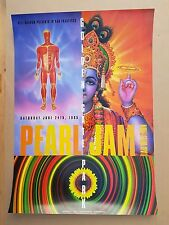Pearl Jam  Bad Religion San Francisco 1995 Concert Poster Design Rex Ray BGP 120
