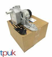 GENUINE BOXED FORD TRANSIT MK6 MK7 2.4 RWD COMPLETE OIL COOLER + FILTER DEFENDER