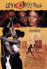 LOVE AND BASKETBALL Movie Promo POSTER C Omar Epps Sanaa Lathan Alfre Woodard
