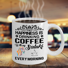 Saluki Coffee Mug,Saluki Mugs,Saluki Mug Gift,Saluki Mugs Gift,Saluki Mug Lovers