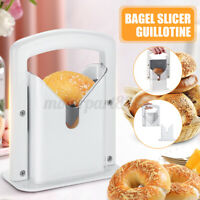 Craft Bagel Cutter Biter Slicer Guillotine Bread Slicing Machine Home