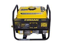 Firman Po1201 1500 W Quiet Portable Gas Powered Generator Lightweight Home Rv