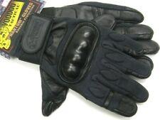 Voodoo Tactical 20-907801094 Large Black Phantom Combat Gloves w/ Knuckle Guard