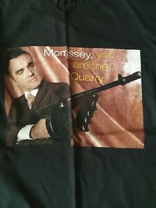 Morrissey (The Smiths)  You Are The Quarry 04 Tour T Shirt