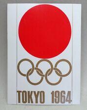 Vintage 1964 TOKYO OLYMPIC GAMES Postcard