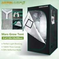 "Mars Hydro 48""x48""x78"" Indoor Grow Tent 1680D Reflective Greenhouse Box Room"