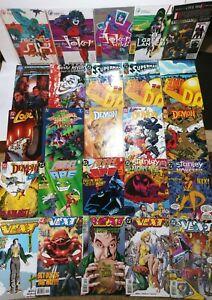 DC Comics lot of 25 Batman Arkham Asylum Superman Demon Vext Star Trek #1 Joker