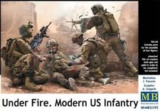 Master Box — US INFANTRY Under Fire — Plastic model kit 1:35 Scale MAS35193