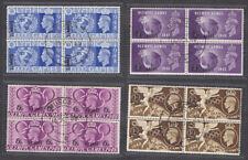 More details for gb eastern arabia muscat kgvi 1948 olympics used blocks set