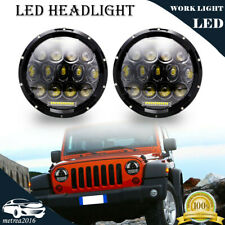 7'' Inch Round LED Headlights Hi/Lo Beam with DRL H4 H13 150W For Mack R Series