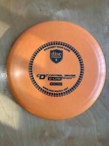 Discmania G-Line CD2 Control Driver Orange teal 175g New