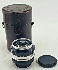Nikon Nikkor Auto 50mm f/1.4  Lens w/Case. Good Condition. Made In Japan.