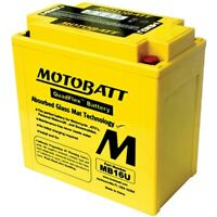 New Motobatt Battery For Suzuki VS800 GL, S Intruder, Boulevard S50 92-12