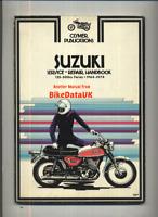 Suzuki T500 T350 T125 T200 T20 T250 (1964-1974) Clymer Manual T 500 350 250 CF13