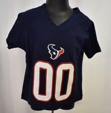 NFL Team Apparel Toddler Houston Texans #00 Football Jersey Shirt LOOK 2T