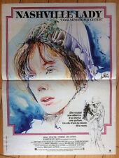 Affiche originale - Nashville Lady - Sissy Spacek - Michael Apted - 53 x 40 cm