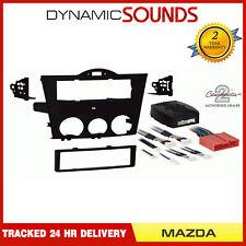 CT24MZ11 Car Single Din Fascia Panel Adaptor Black for Mazda RX-8 2004-2008
