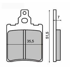 225100120 RMS Coppia pastiglie freno  POSTERIORE GARELLITIGER 125 XLE1251986