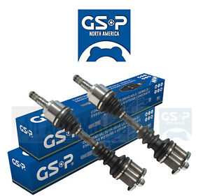 CV Axle Assembly Half Shaft Set Left /& Right GSP fits 81-83 Nissan 280ZX Turbo