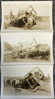 3 Early Photos of Heavy Truck Accident-White Mortor Company