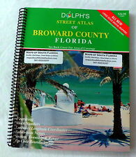 New: 2013 Street Atlas of Broward County Florida .. Large Scale