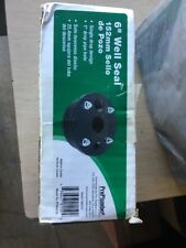 "PROPLUMBER 6""  WELL SEAL #106425 SINGLE DROP DESIGN 1"" DROP PIPE HOLE Lot Of 4"