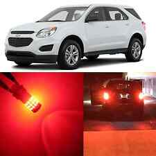 Alla Lighting Brake Tail Signal Light 3157 Red LED Bulbs for 10~15 Chevy Equinox