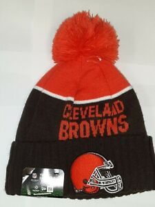 Cleveland Browns Beanie Hat YOUTH Size. New Era Knit Cap