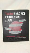 The New World Wide Stamp Album 1964 Minkus Publications Book Binder