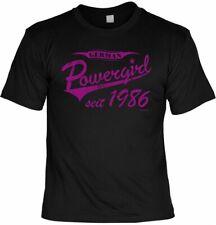 T-shirt-German Power Girl desde 1986-Fun Shirt regalo de cumpleaños 31.