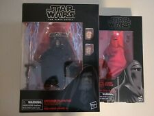 Star Wars Black Series Unopened Emperor Palpatine (Amazon) & Royal Guard Combo