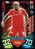 Match Attax 19/20 Bundesliga 2019/2020 Basiskarte Karte Nr. 59 Anthony Ujah