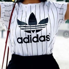 Adidas Hot Women Loose T shirt Tops Casual Party Wedding Charm Dress Clothes