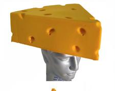 Cheese Head Foam Head Hat Cap Headwear