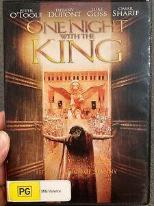 One Night With The King region 4 DVD (2006 Peter O'Toole drama movie) rare