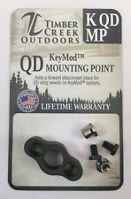 TIMBER CREEK - KeyMod - QUICK DETACH MOUNTING POINT - OD GREEN - MADE IN USA