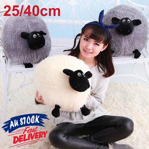 25/40CM Stuffed Home Sheep plush Kid Gifts Soft Baby Toy Cushion Pillow