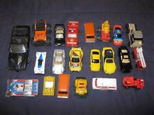 21 Diecast Metal & Plastic Cars Vehicles  Small Various Assorted (O) AS IS