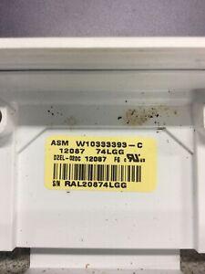 Kenmore Dishwasher Control Part # W10333393