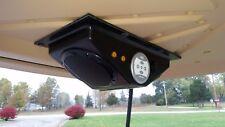 "RZR UTV Golf Cart Marine Bluetooth Overhead Console Waterproof 6.5"" Speakers"