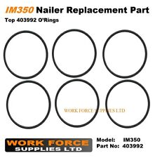 6 x Replacement IM350 top fan o'ring 403992 for Paslode Nailer IM350